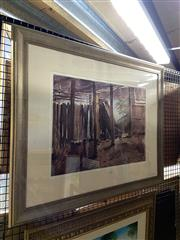 Sale 8891 - Lot 2073 - David Fowler - The Shed, water colour, 71 x 86 cm, signed lower left.
