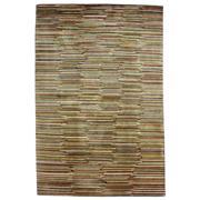 Sale 8918C - Lot 10 - Nepal Tashi Stripe Rug, 122x184cm, Handspun Silk