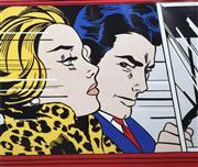 Sale 9072A - Lot 5054 - Roy Lichtenstein (1923 - 1997) - In the Car, 1963 58 x 69 cm (frame: 83 x 99 cm)