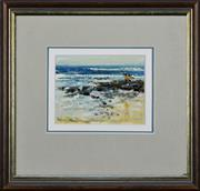 Sale 8309A - Lot 9 - Patrick Carroll (1949 - ) - Entrace Impression 9.5 x 12.5cm