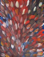 Sale 8411A - Lot 5044 - Gloria Petyarre (c1945 - ) - Bush Medicine Leaves 98 x 76cm