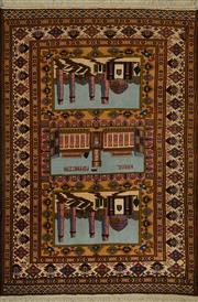 Sale 8424C - Lot 35 - Afghan Herati 190cm x 130cm