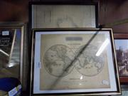 Sale 8429A - Lot 2086 - 2 Maps 1718 & New Holland