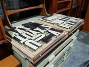 Sale 8765 - Lot 1092 - Set of Printers Blocks in Four Trays