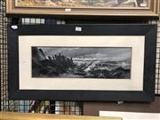 Sale 8797 - Lot 2024 - 2 Artworks: Thompson - House Study, Oil SLR 14x19cm; Eurdow - The Bones, Oil, SLL, 14x45cm