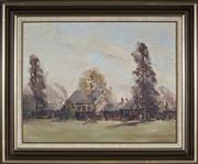 Sale 9041 - Lot 2050 - W. H. Hibble - Richmond 28.5 x 36.5 cm (frame: 40 x 48 x 3 cm)