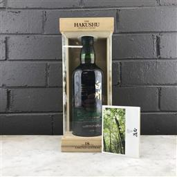Sale 9120W - Lot 1412 - The Hakushu Distillery 18YO Single Malt Japanese Whisky - limited edition, 43% ABV, 700ml in presentation box with slip cover