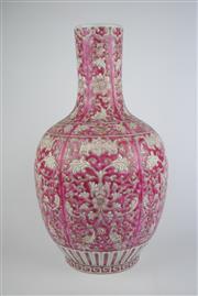 Sale 8381 - Lot 112 - Oriental Vase Floral Decoration