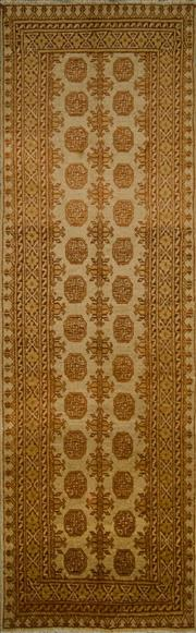 Sale 8424C - Lot 36 - Afghan Turkman Runner 279cm x 86cm