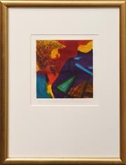 Sale 8659 - Lot 2008 - Ulli Brunnschweiler (1945 - ) - New Island I 2000, 23 x 22cm (frame: 46.5 x 49cm)