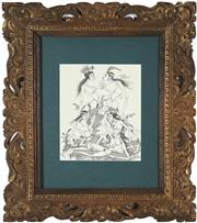 Sale 8941 - Lot 2043 - Wakul Sambahan (South East Asian School) Group of Nudes ink on paper, 19.5 x 24.5cm, signed lower right -