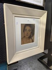 Sale 8914 - Lot 2007 - Artist Unknown - Portrait of a Woman, print on photographic paper, 59 x 53cm, unsigned