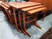 Sale 8930 - Lot 1045 - G-Plan Teak Nest of Tables