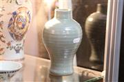 Sale 8285 - Lot 72 - Song Longquan Celadon Vase Retailed for John Sparks Ltd