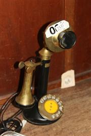 Sale 8351 - Lot 83 - Brass Telephone