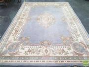 Sale 8440 - Lot 1024 - Large Woollen Modern Floor Rug (322 x 237cm)