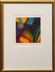 Sale 8659 - Lot 2009 - Ulli Brunnschweiler (1945 - ) - New Island II, 2000 22.5 x 22cm (frame: 46.5 x 49cm)