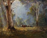 Sale 8713 - Lot 523 - Kevin Best (1932 - 2012) - Highland Muster 49.5 x 59.5cm
