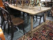 Sale 8795 - Lot 1088 - Vintage Timber Folding Trestle