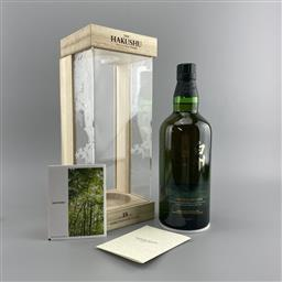 Sale 9142W - Lot 1004 - The Hakushu Distillery 18YO Single Malt Japanese Whisky - limited edition, 43% ABV, 700ml in presentation box with slip cover