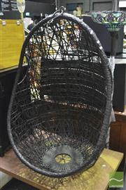 Sale 8368 - Lot 1031 - Hanging Wicker Chair