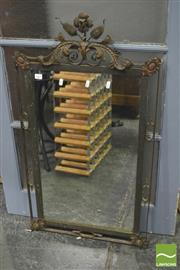 Sale 8392 - Lot 1069 - Metal Framed Mirror