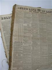 Sale 8450S - Lot 715 - Bells Life in London & Sporting Chronicle 1860, partial year; t/w 1863 partial year