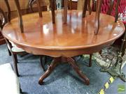 Sale 8480 - Lot 1020 - Round Extension Dining Table