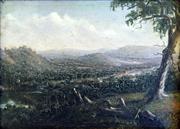 Sale 8544A - Lot 5018 - Alfred William Eustace (1820 - 1907) - Chiltern, Victoria c1890 10 x 13.5cm