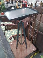 Sale 8620 - Lot 1019 - Industrial Adjustable Table