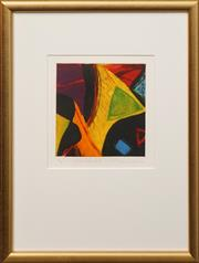 Sale 8659 - Lot 2010 - Ulli Brunnschweiler (1945 - ) - New Island III, 2000 23 x 22cm (frame: 46.5 x 49cm)