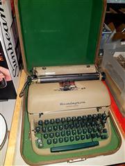 Sale 8670 - Lot 74 - Remington Typewriter in Case