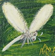 Sale 8722 - Lot 519 - Kevin Charles (Pro) Hart (1928 - 2006) - Dragonfly 9.5 x 9cm