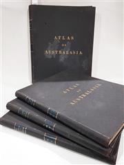 Sale 8822B - Lot 860 - 4 Volumes privately bound, Picturesque Atlas of Australasia, ed. Andrew Garran