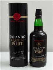 Sale 9066H - Lot 148 - An Orlando liqueur port in cylinder.
