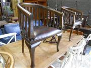 Sale 7943A - Lot 1521 - Pair Of Tub Chairs