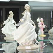 Sale 8304 - Lot 7 - Lladro Figure of a Girl