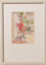 Sale 8375A - Lot 87 - J.C.F. - Garden Scene 1996 18 x 12 cm
