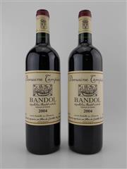 Sale 8479 - Lot 1808 - 2x 2004 Domaine Tempier, Bandol