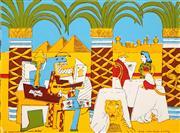 Sale 8492A - Lot 5009 - Garry Shead (1942 - ) - The Phantom of Luna Park, 1989 49 x 66cm