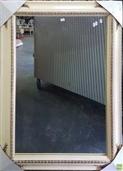 Sale 8601 - Lot 1563 - Cream Framed Rectangular Mirror (110 x 80cm)