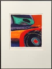 Sale 8655 - Lot 2031 - Ulli Brunnschweiler (1945 - ) - Soundings II, 1995 31.5 x 30.5 (frame: 68.5 x 51.5cm)