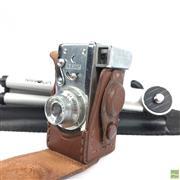 Sale 8648A - Lot 17 - Steky Vintage Spy Camera On Tripod