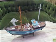 Sale 8648C - Lot 1085 - Timber Model Fishing Trawler