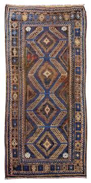 Sale 8918C - Lot 15 - Afghan Antique Nomadic Beluchi, 150x310cm, Handspun Wool