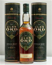 Sale 9066H - Lot 154 - Two bottles of Glen Ord 12 year old single malt whisky.