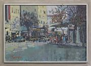 Sale 8297 - Lot 513 - John Tiplady (1938 - ) - MacLeay Street, Kings Cross, 1970 58 x 83cm