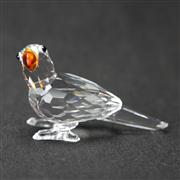 Sale 8412B - Lot 54 - Swarovski Crystal Parrot with Box - Height 4.2cm