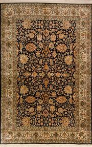 Sale 8447C - Lot 9 - Kashmiri Silk 190cm x 125cm