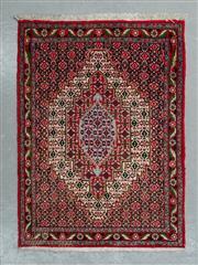 Sale 8472C - Lot 3 - Persian Bijar 104cm x 75cm